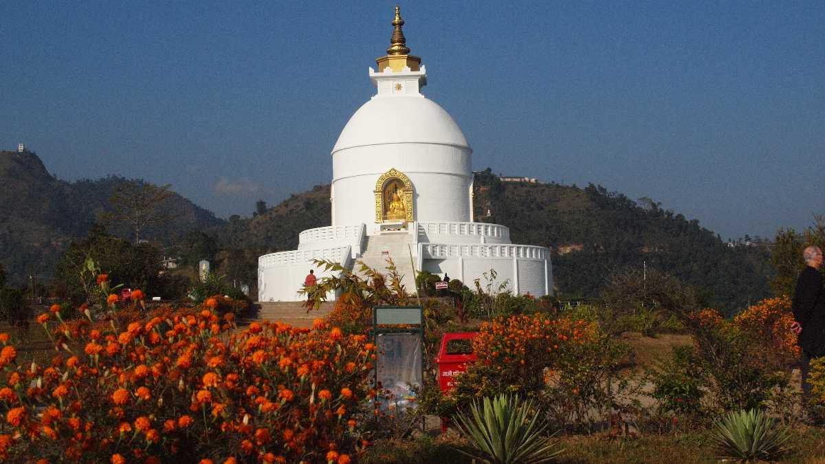 World Peace Pagoda, Lakeside Pokhara