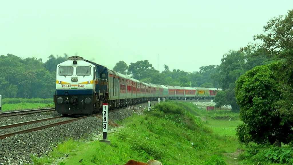 Neapl to Bhutan by train