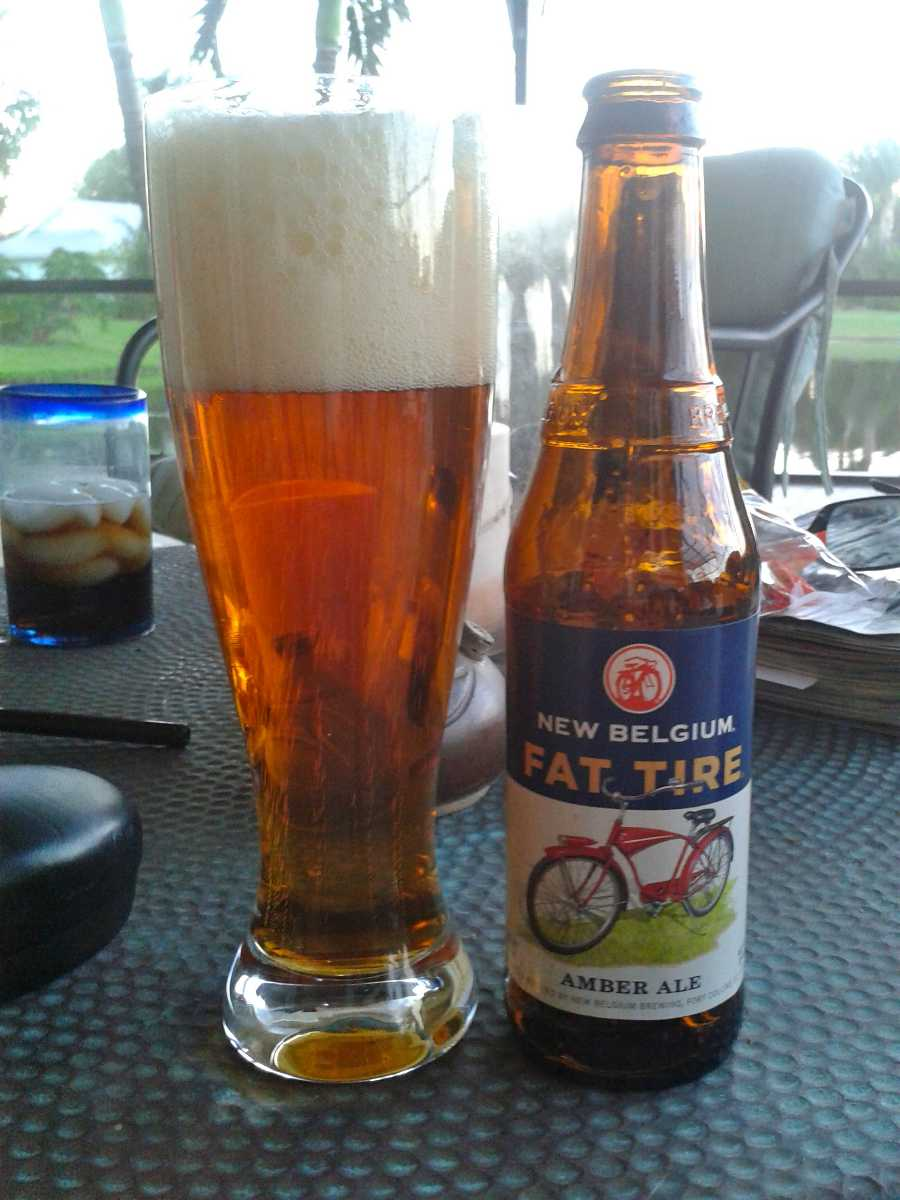 Fat Tire beer in dubai