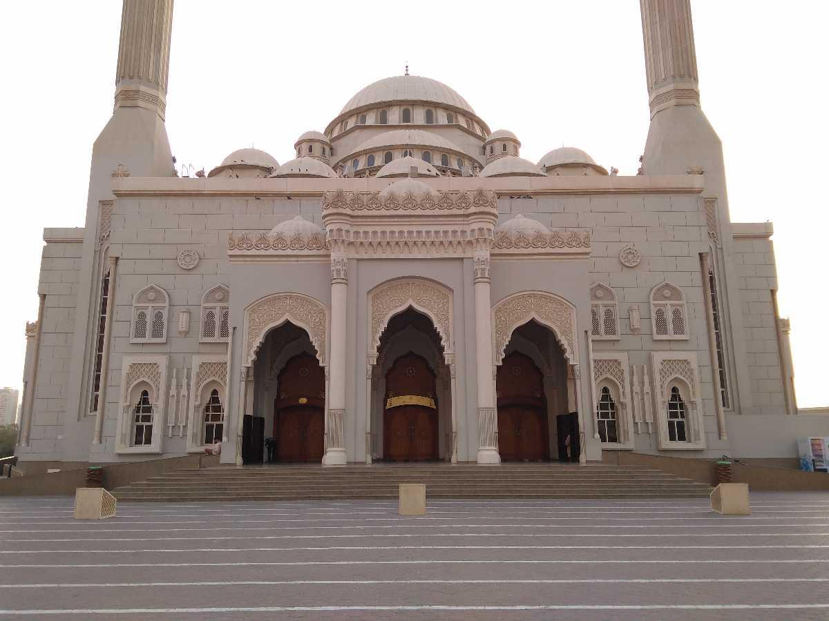 Al Noor Mosque Front View