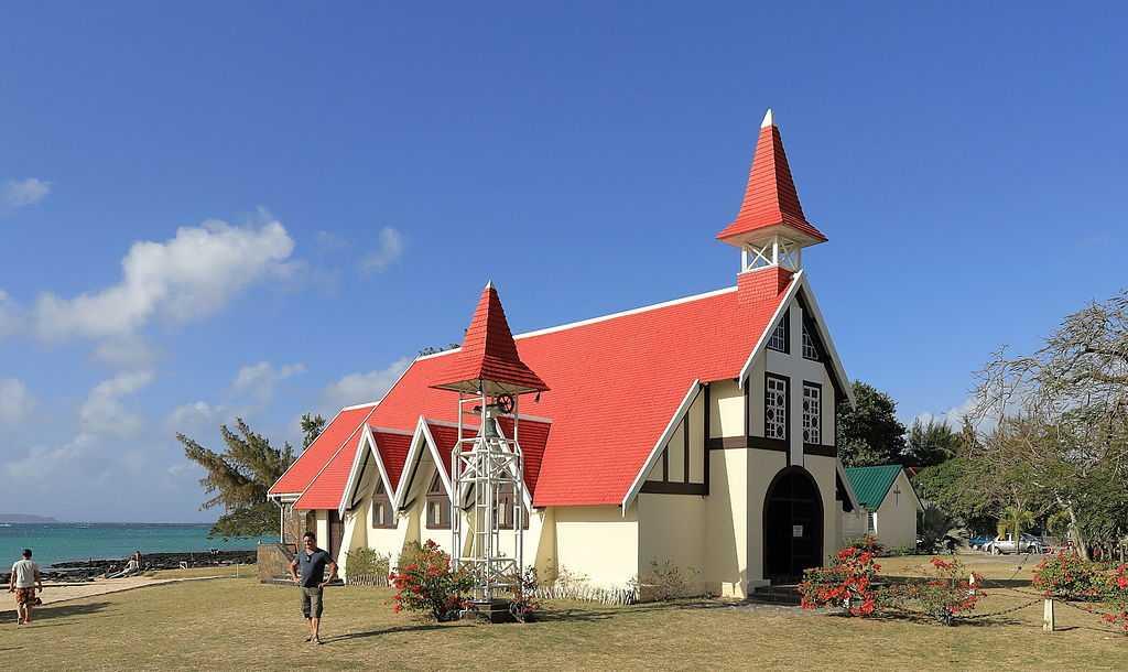 Notre dame de l'Auxiliatrice, Churches in Mauritius