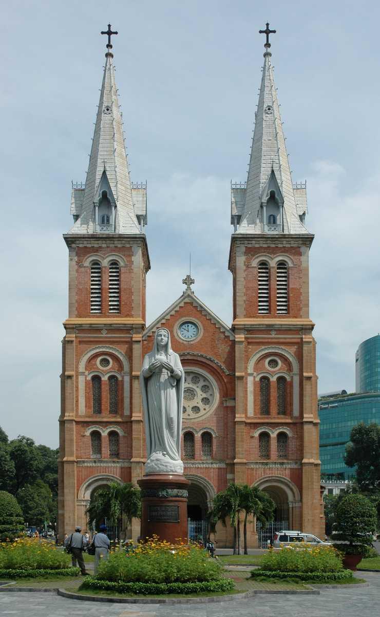 Notre Dame Church Vietnam
