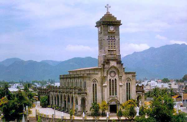 Nha Trang Cathedral, French Architecture in Vietnam
