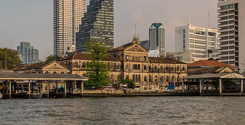 Old Customs House, Western Architecture in Bangkok