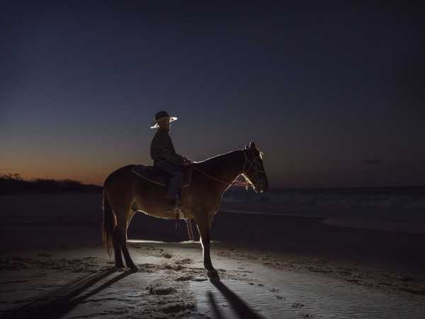 Horse Riding in Full Moon, Nightlife in Dubai