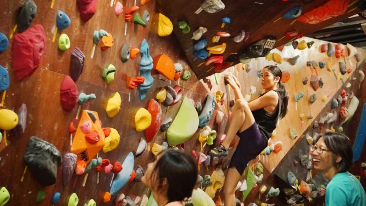 OYEYO Rock Climbing Centre in Singapore