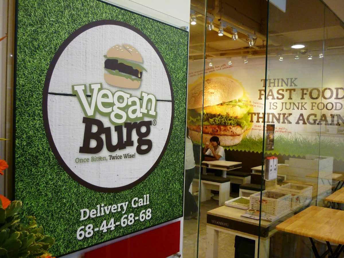 VeganBurg, Vegetarian Restaurants in Singapore