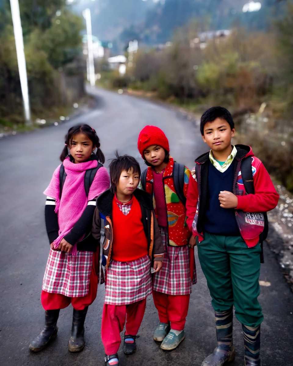 Pahari Kids