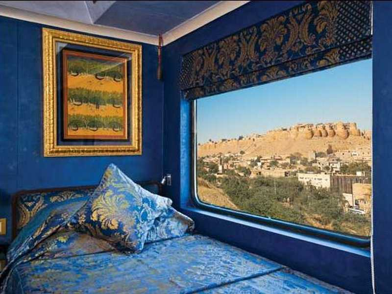 Deluxe Cabin, Palace on Wheels