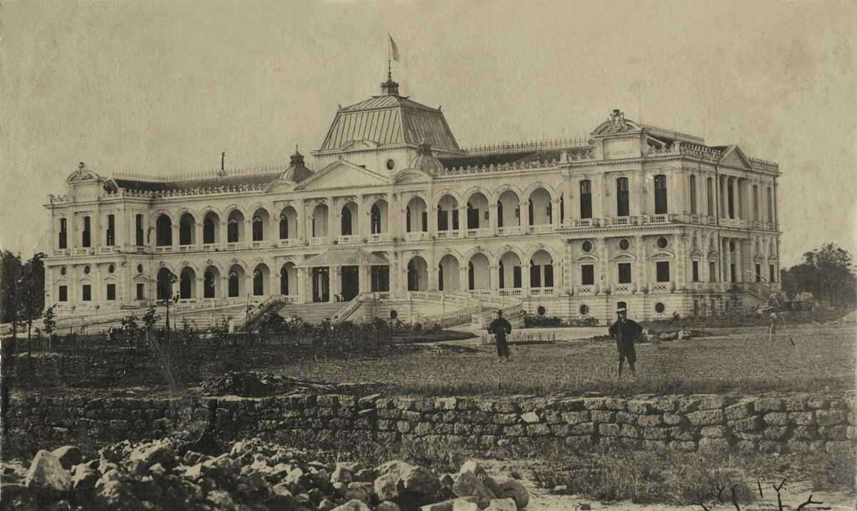 The Nordorom Palace in Saigon, Later Becoming the Reunification Palace