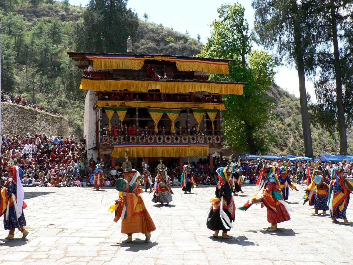 Paro Tschechu, Rinpung Dzong