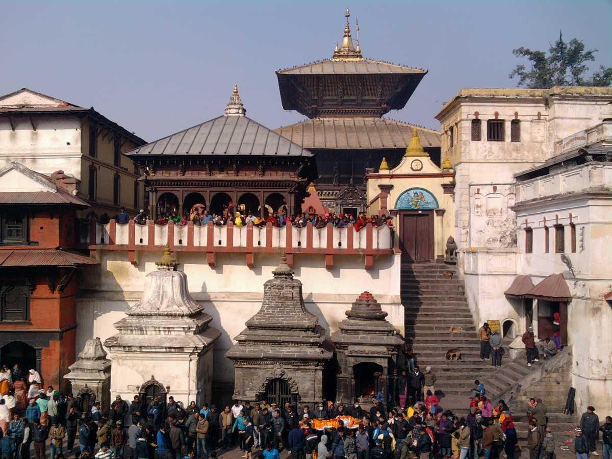 Kathmandu, the capital and a magical landscape of Nepal.