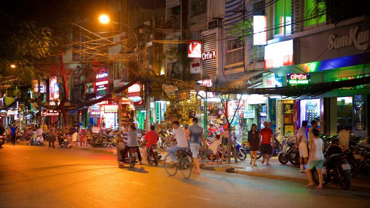 Beer Hoi in Pham Ngu Lao, Ho Chi Minh Nightlife