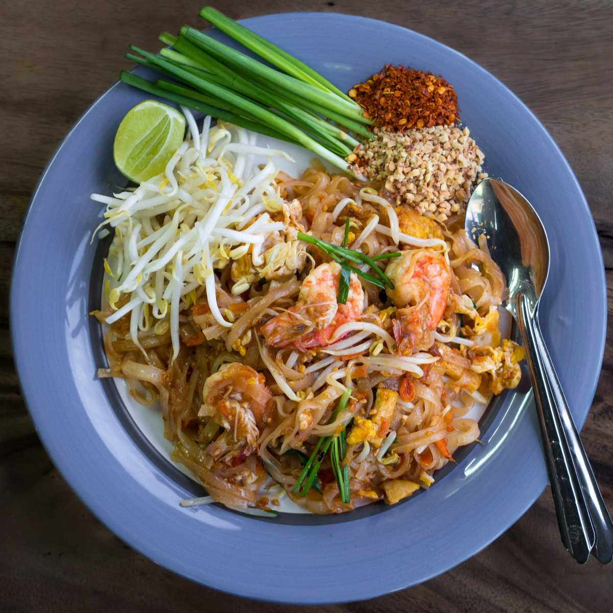 Pad Thai is a Good Option for Halal Food in Phuket