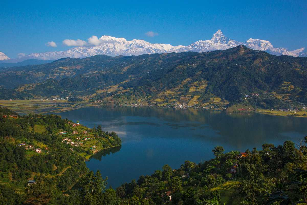 Pokhara is one of the best places to skydive