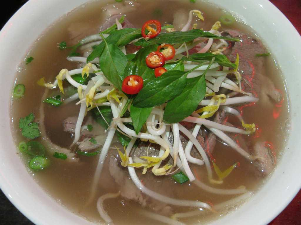Pho, Street Food in Hanoi
