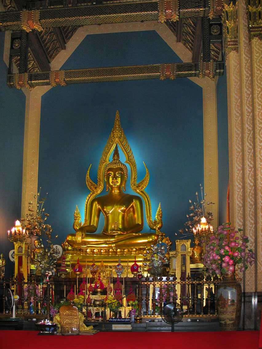 Phra Buddha Chinnarat, Wat Benchamabophit Bangkok