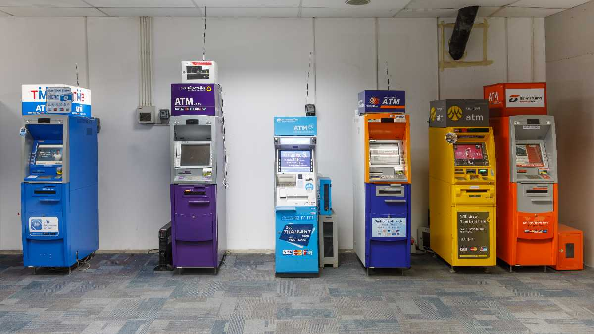 Currency in Thailand, Thai ATM