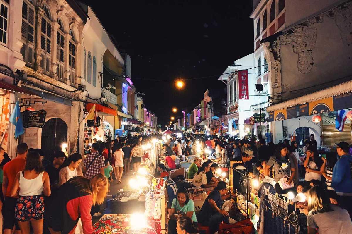 Phuket Walking Street, Shopping in Phuket