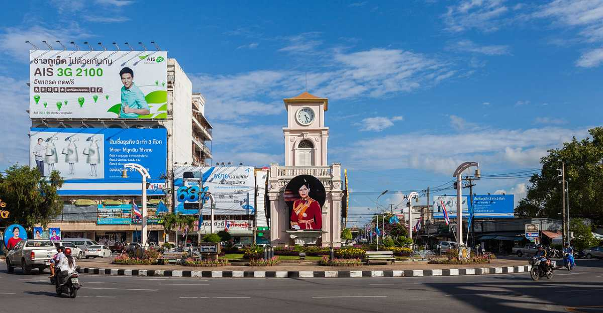 Culture of Phuket, Surin Roundabout