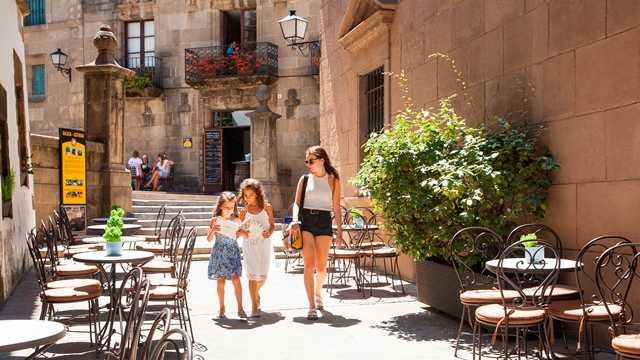 Poble Espanyol, Sightseeing in Montjuïc