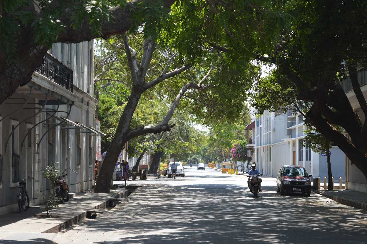 Street in Pondicherry