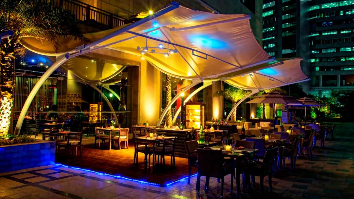 Alfresco, Romantic Places in Hyderabad