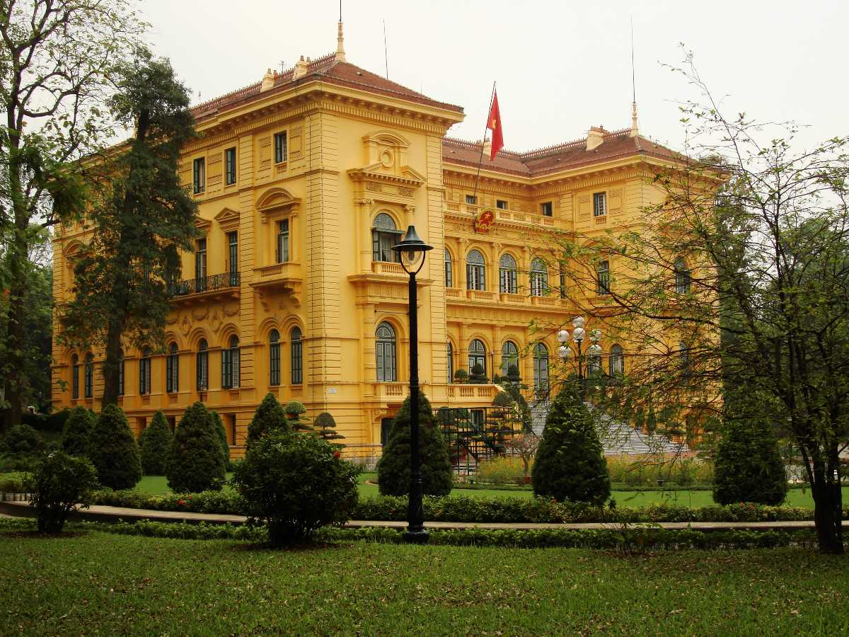 Presidential Palace Hanoi, French Architecture in Vietnam