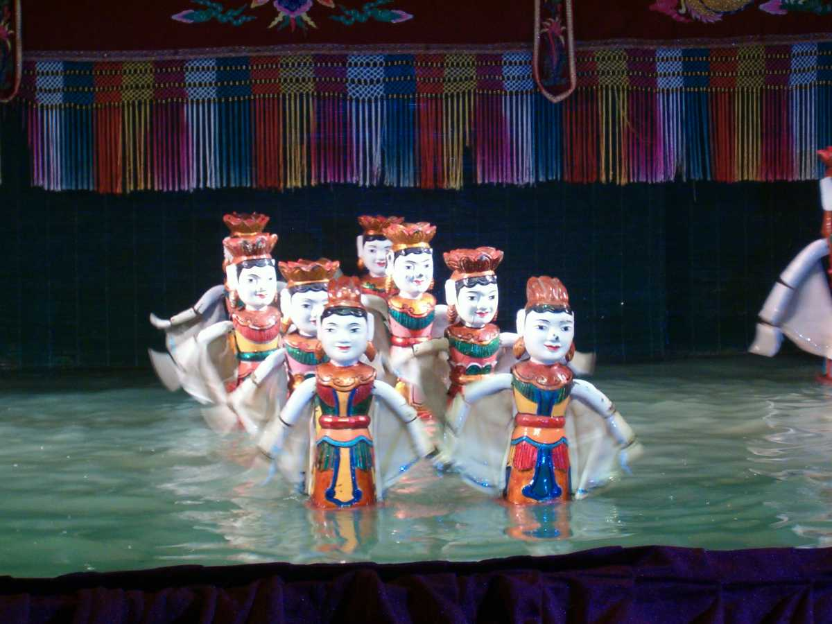 Vietnamese Culture, Water Puppetry
