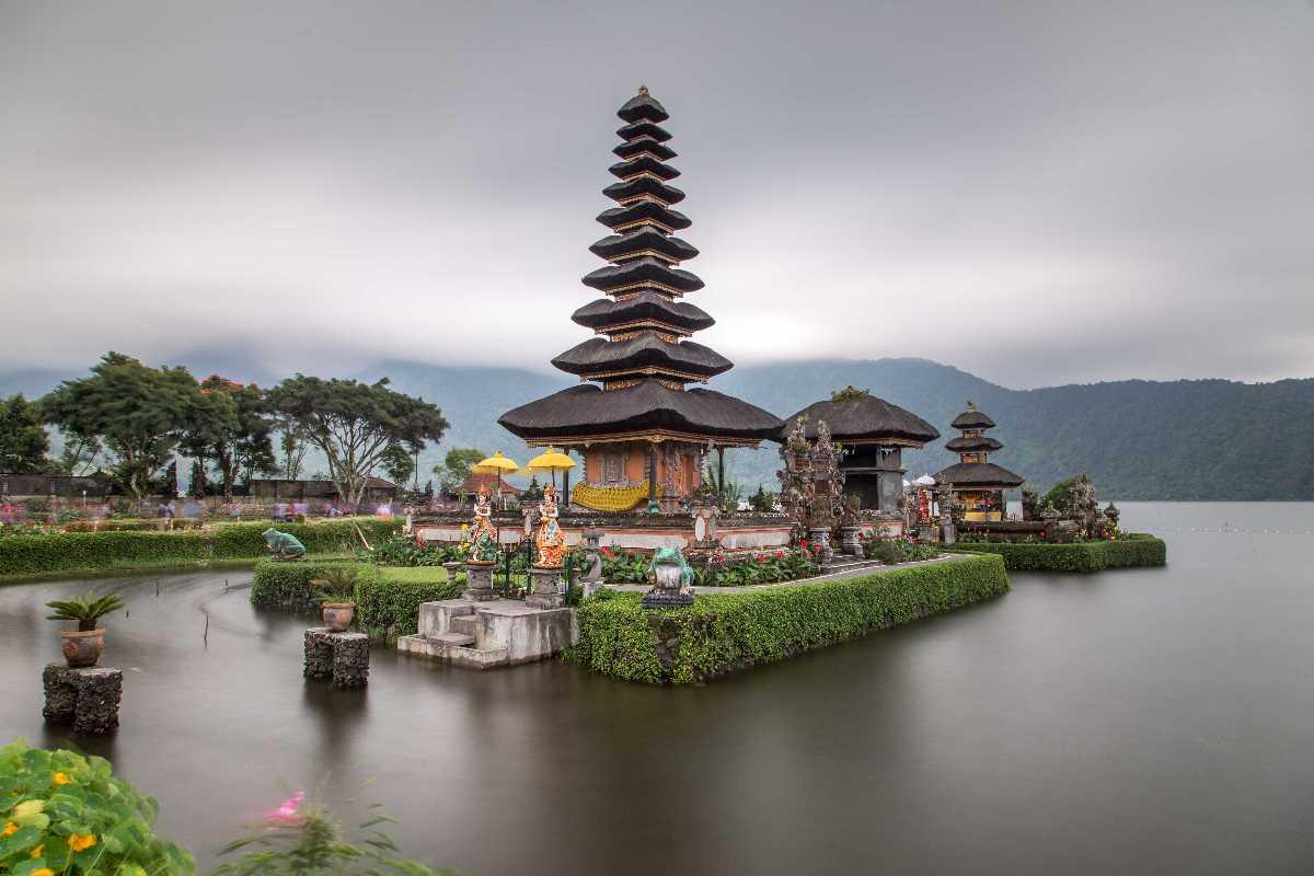 Ulun Danu Beratan Temple, Architecture in Bali