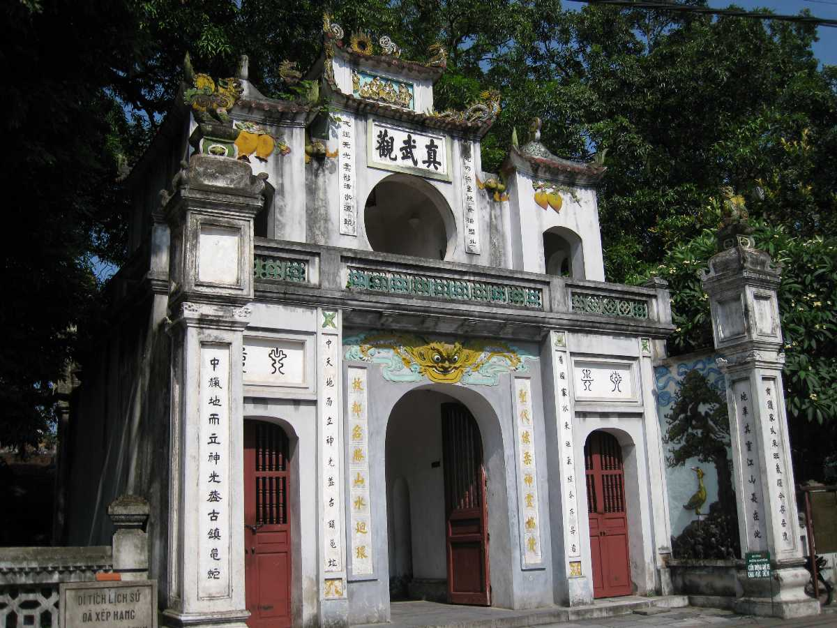 Quan Thanh Temple, one of the Four Sacred Temples of Ancient Hanoi