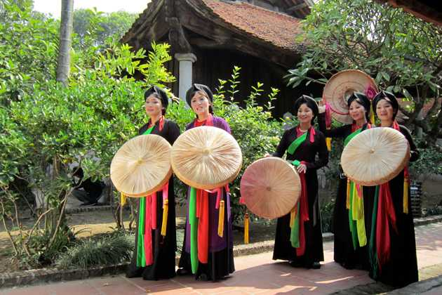 Quan ho folk songs in vietnam