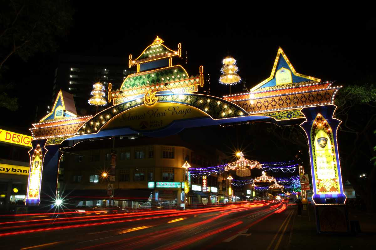 Hari Raya Puasa, Festivals in Singapore