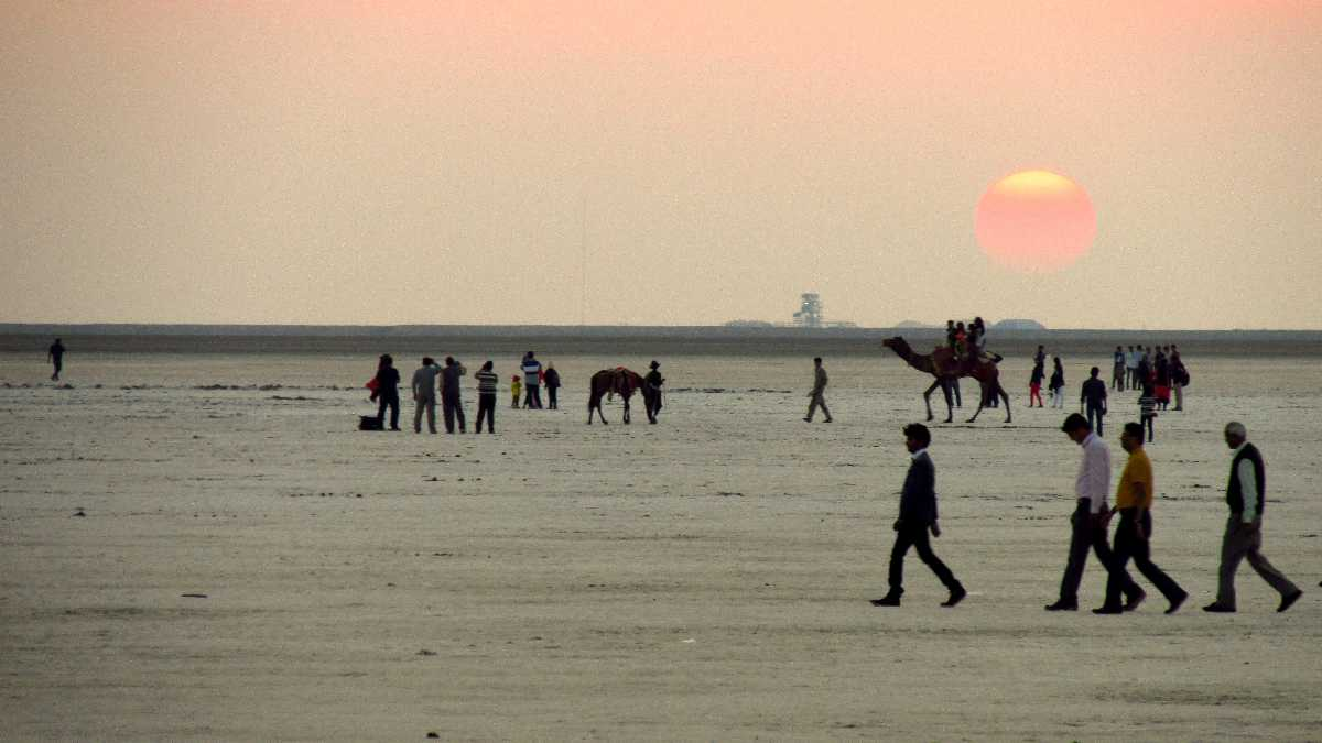 Rann of Kutch in Summer