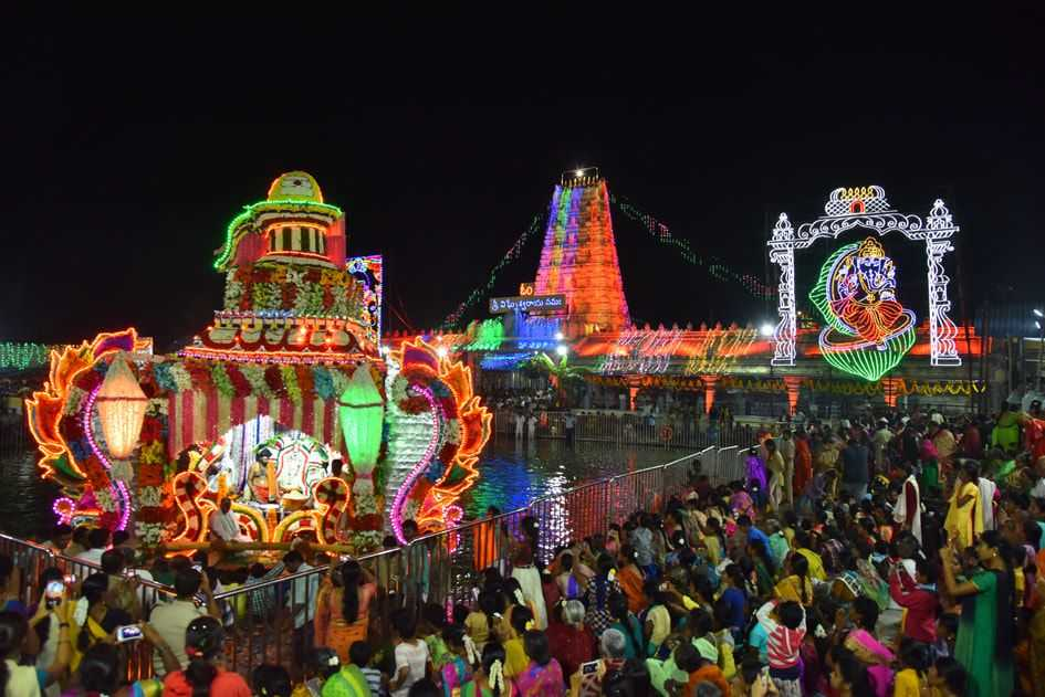 Festivals of Kanipakam Vinayaka Temple