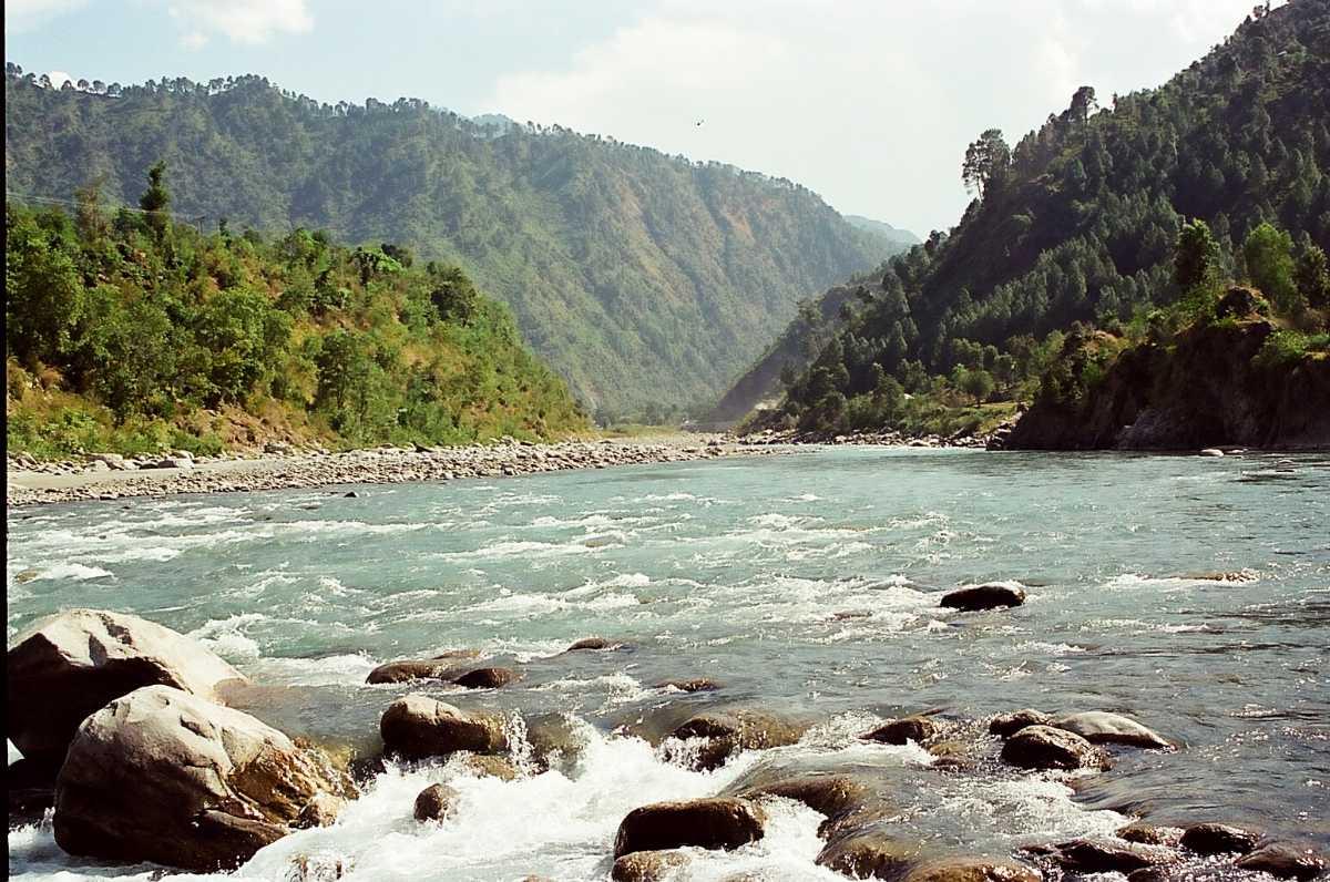 Ravi River in Chamba