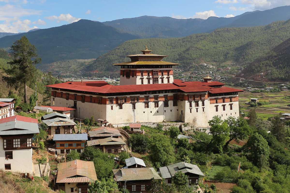 Rinpung Dzong, Dzongs in Bhutan