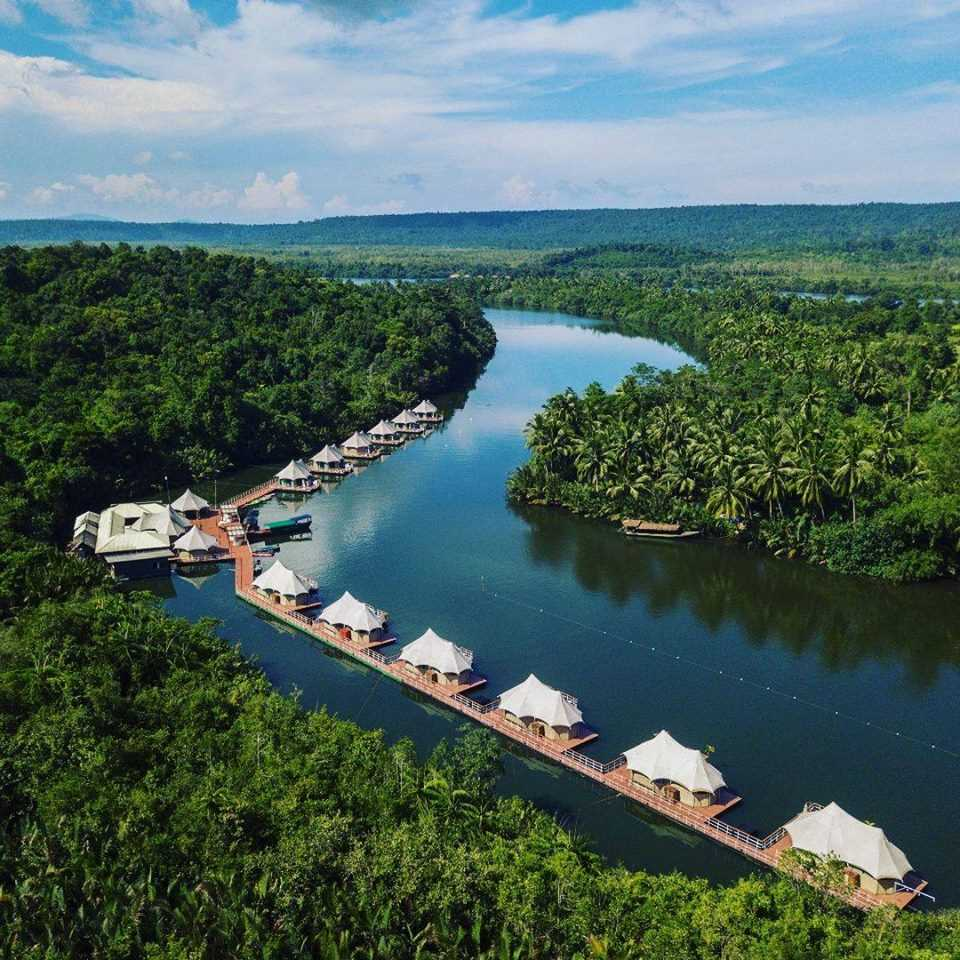 Rivers Floating Lodge, World's Most Beautiful Glamping Destinations