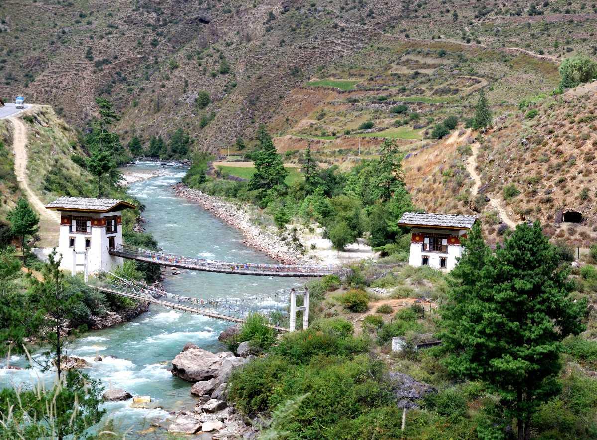 Rivers of Bhutan