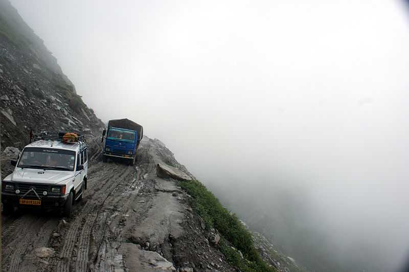 Rohtang Pass, Most Dangerous Places in India