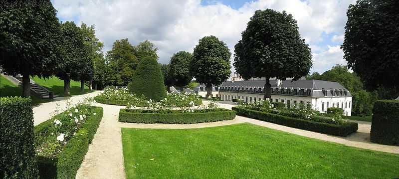 gardens, abbaye de la cambre