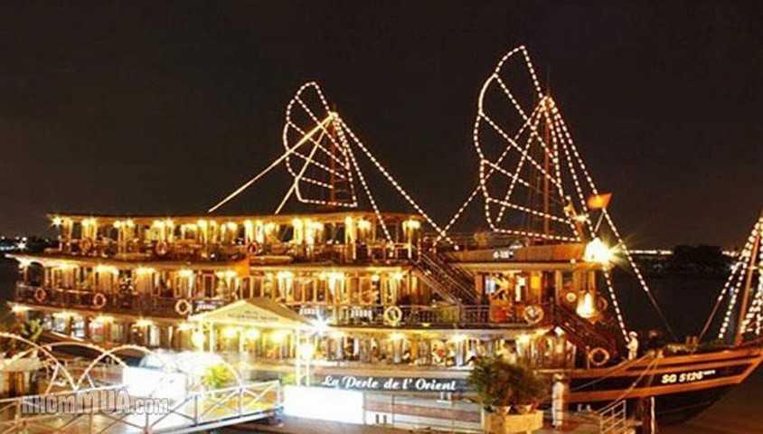 La Perle de L'Orient Cruise on Saigon River