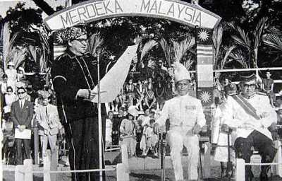 Sabah during the formation of Malaysia