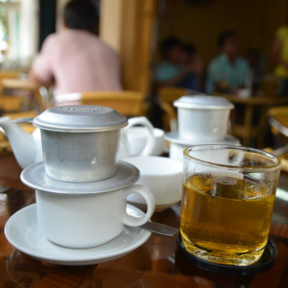 Vietnamese Coffee in Ho Chi Minh City
