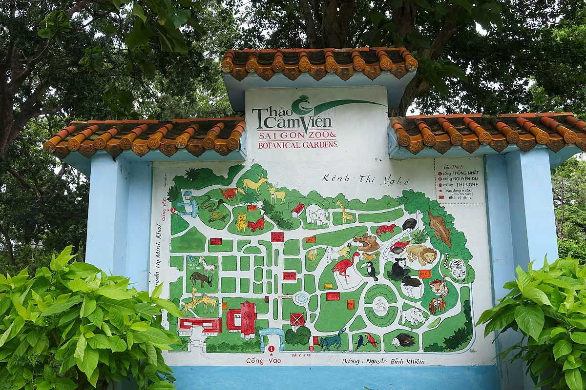 Saigon Zoo, a fun and affordable things to do in Ho Chi Minh Ciy