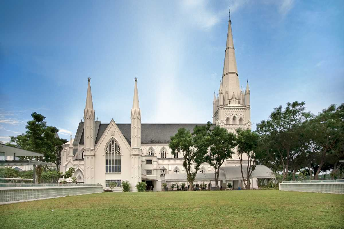 St Andrews Cathedral, Architecture of Singapore