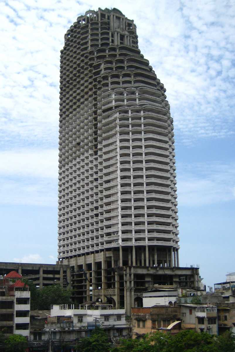 Sathorn Unique Tower is the Ghost Tower of Bangkok