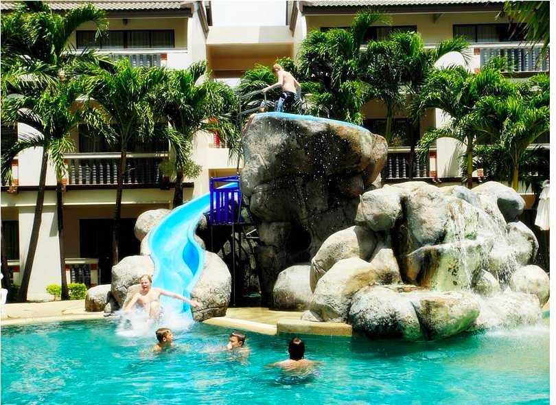 Pools and Kids Park, Centara Kata Resort, Water Park Resort Phuket