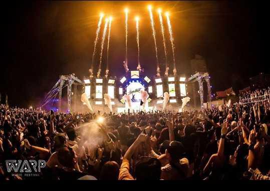 Warp Music Festival, Music Festivals in Thailand