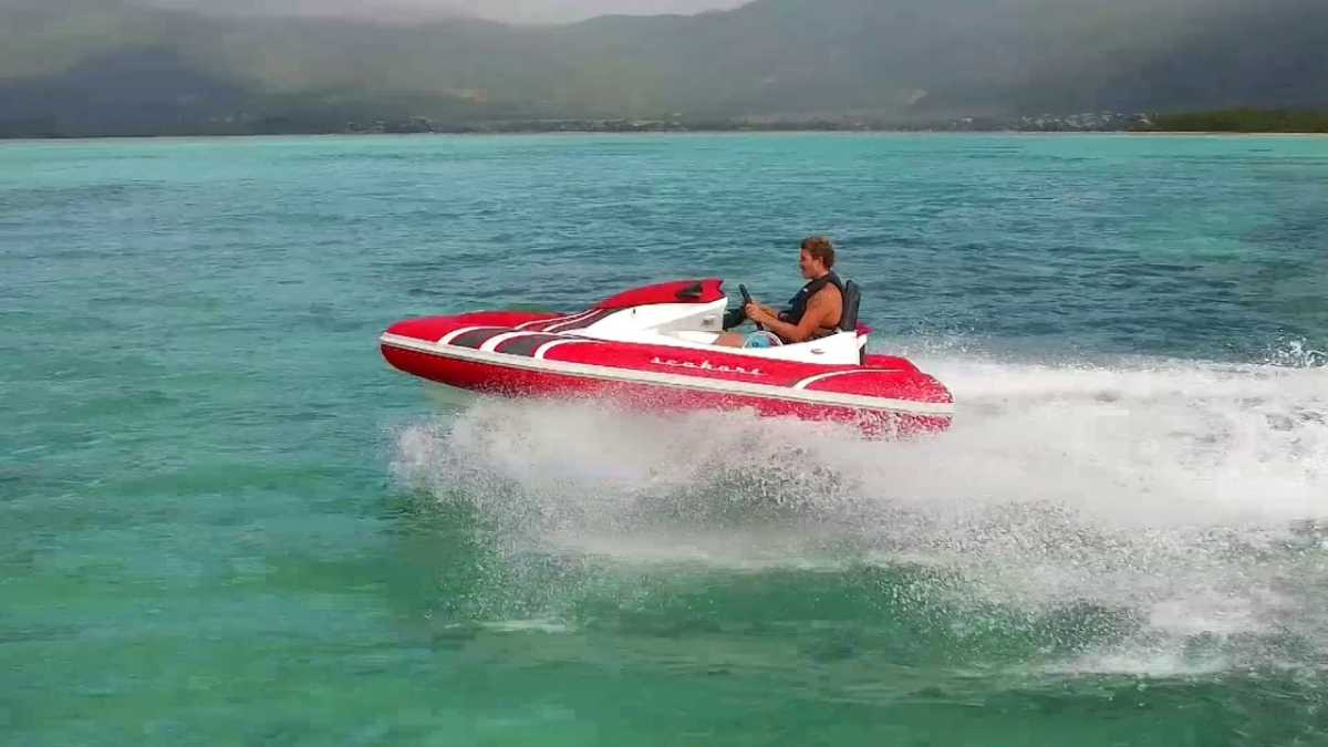 Sea Hover, waters sports in Mauritius